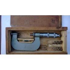 Микрометр со вставками тип МВМ 200-225