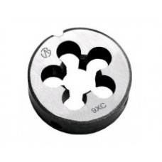 Плашка круглая  метрическая левая резьба ГОСТ 9740