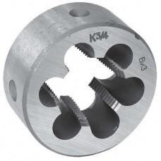 Плашка круглая коническая дюймовая ГОСТ  6228