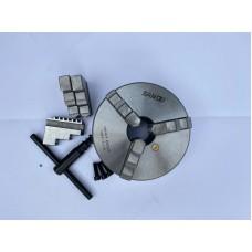 Патрон токарный 160 мм 3х кул. на 4 конус 7100-0027