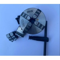 Патрон токарный 80мм четырехкулачковый самоцентрирущийся