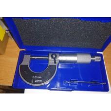 Микрометр 0-25мм